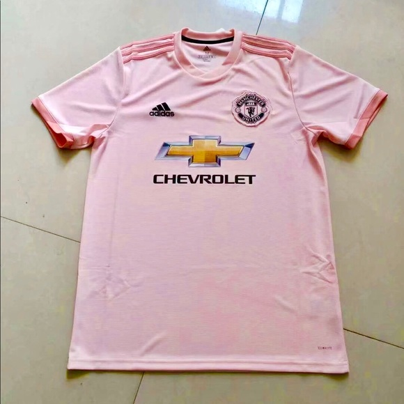 los angeles 42de7 d69a1 2018/19 Manchester United Away jersey pink NWT